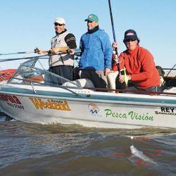 La Hannover, una insignia en el Río de la Plata. Para tener en claro el estado del estuario vamos a tener que pescarlo, porque se trata de un lugar del cual, por la cuarentena, no hay noticias.