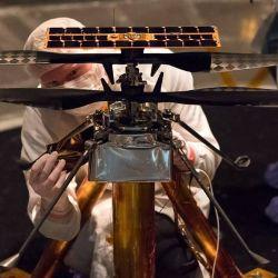 Su desarrollo fue todo un desafío, ya que hubo que pensar en un helicóptero que pudiera moverse con condiciones de vuelo bastante distintas a la de la Tierra.