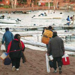 En otras temporadas, Chasicó  fue un mundo de pescadores. Aguantemos solo un poquito más: el peje nos está esperando.
