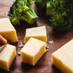 Brócoli y queso, una dupla ideal.
