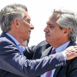 Mauricio Macri Y Alberto Fernández | Foto:Cedoc