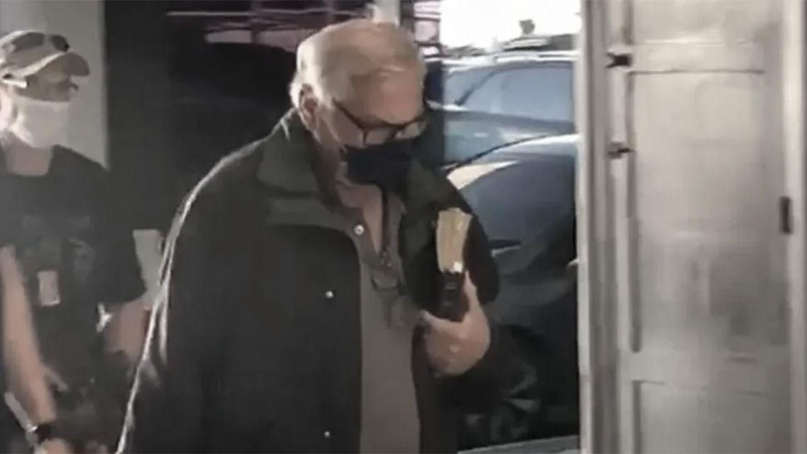 "Gonzalo Sánchez, 69, also known as ""Chispa,"" is taken into custody."