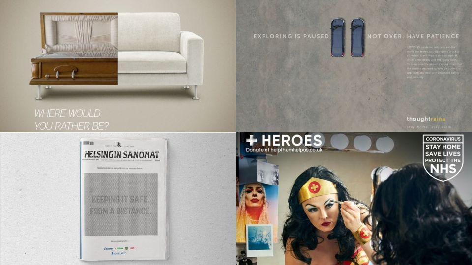 Autopromoción. Las agencias de publicidad y sus estrategias ante la pandemia.