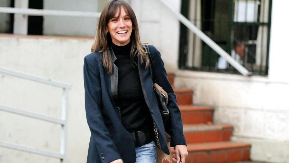 Malena Galmarini actual Presidenta del directorio de AySA y esposa del diputado Sergio Massa