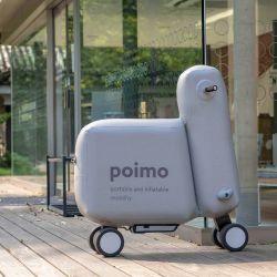 Una de las características más interesantes de Poimo es que está compuesto por una estructura inflable pero bastante rígida.