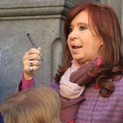 Cristina Fernández de Kirchner   Foto:Cedoc