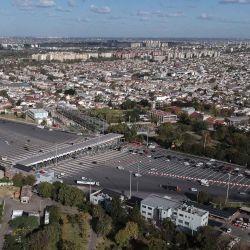 2020-05-13 - 19:31:00 hs.  Buenos Aires: Vistas del dron de Talam  Vistas del dron de Télam   Foto:telam