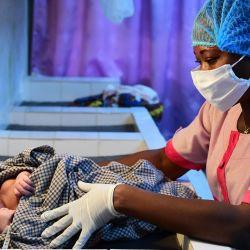 01/04/2020 Hospital a las afueras de Abiyán, en Costa de Marfil POLÍTICA ÁFRICA INTERNACIONAL COSTA DE MÁRFIL UNICEF / FRANK DEJONGH | Foto:DPA