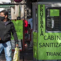 fotogalería Covid19 en CABA | Foto:Juan Ferrari