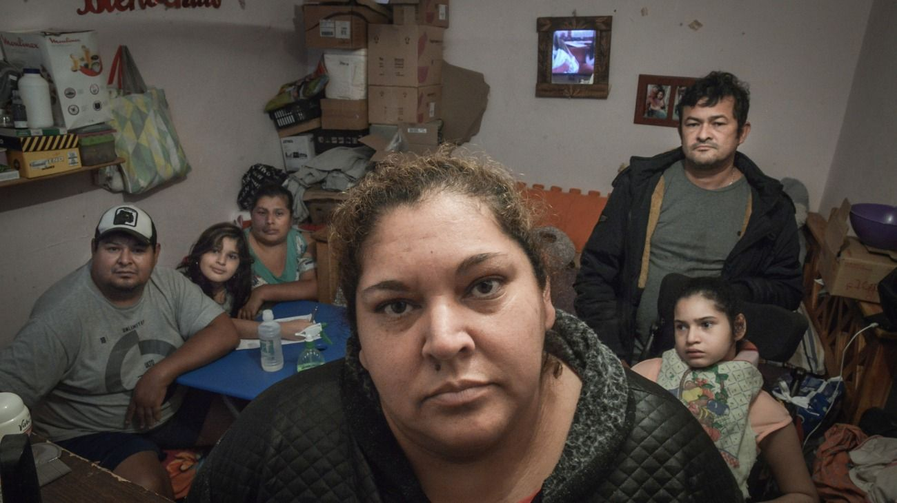 Ramona pasó doce días sin servicio de agua en su casa de la Villa 31.