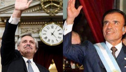 De Menem a Alberto, las coincidencias en los discursos