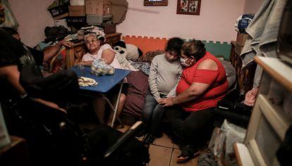 Ramona Medida había denunciado la falta de agua en su vivienda.