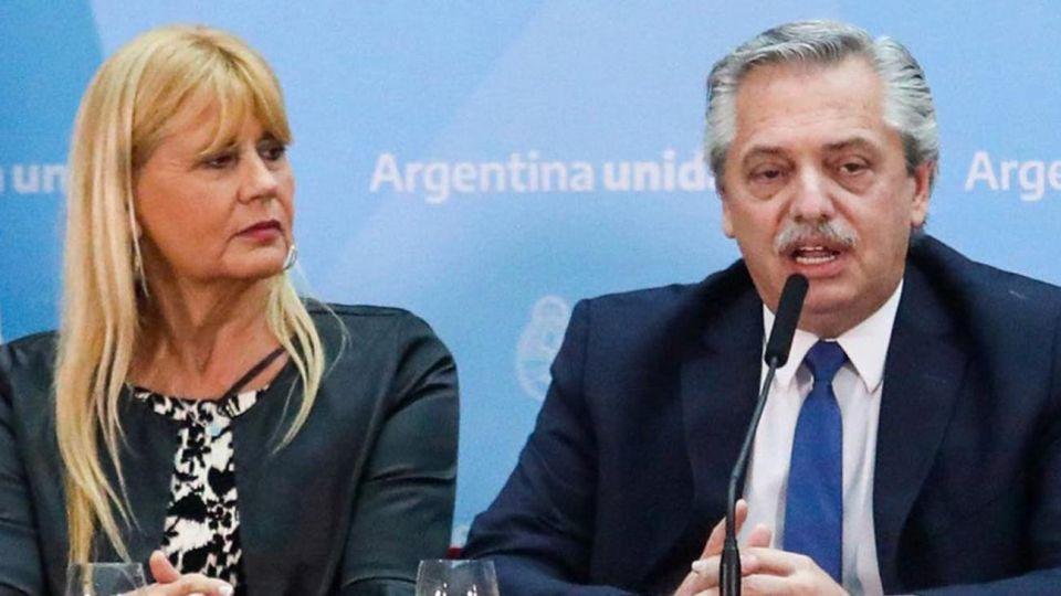 Alberto Fernández y Marcela Losardo 20200514