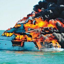 Cualquier incendio es gravísimo a bordo. En navegación afectará solo nuestra embarcación, pero en la amarra puede traer consecuencias inesperadas hacia nuestros vecinos.