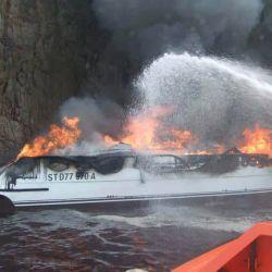 Debido a lo rápido que se propaga el fuego, dificilmente la ayuda de los bomberos llegue a tiempo.