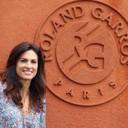 Gabriela Sabatini fue distinguida en Roland Garros.