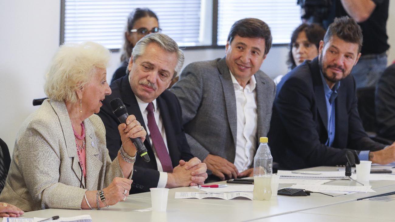 Daniel arroy y Alberto Fernandez