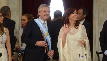 Asunción como presidente de Alberto Fernández-