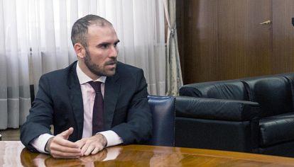 El ministro de hacienda Martín Guzmán