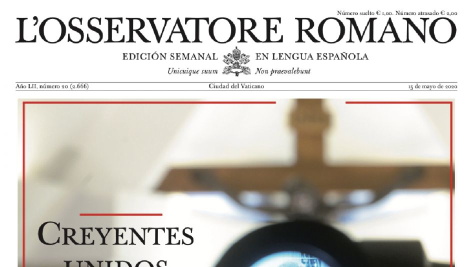 Nueva edición del Osservatore Romano.