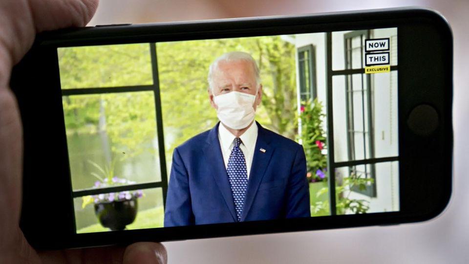 Biden hace campaña en cuarentena desde su casa en Delaware