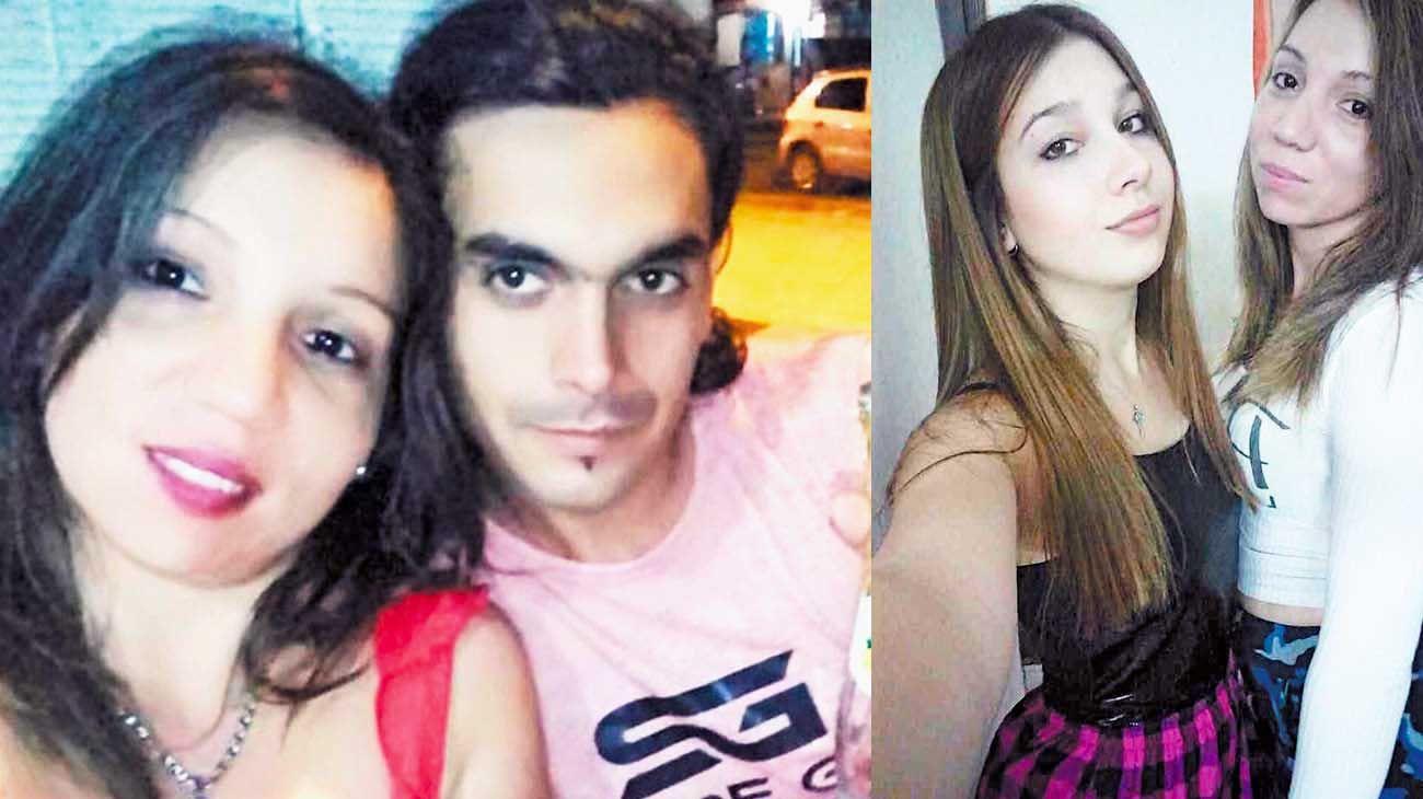 """Pareja. Miguel y Yanina, condenados por el crimen de la nena de 2 años (izq.) / Amistad. Nahir y Yanina se conocieron el año pasado en el penal de Paraná. En septiembre pasado subieron varias fotos: """"Hermana de otra vida"""", escribió la homicida de Fernando (der.)."""
