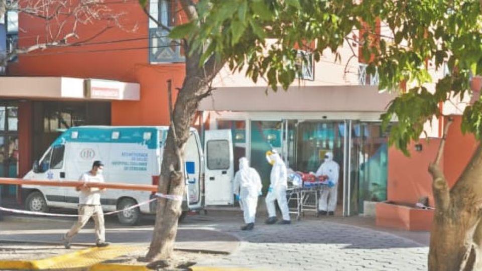 HOSPITAL ITALIANO. El principal cuestionamiento fue el traslado de más de 30 residentes afiliados al Pami del geriátrico Santa Lucía en Saldán