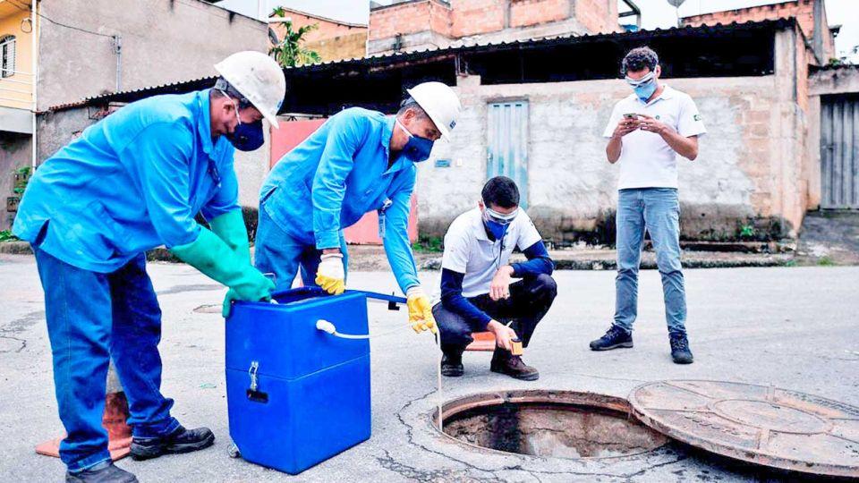 Análisis. En Italia, España, Inglaterra y EE.UU. también se hicieron estudios similares en aguas residuales.