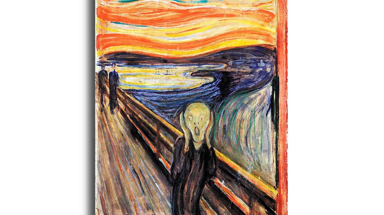 'El Grito'. La obra de Munch vale para ilustrar estos tiempos de miedo colectivo.