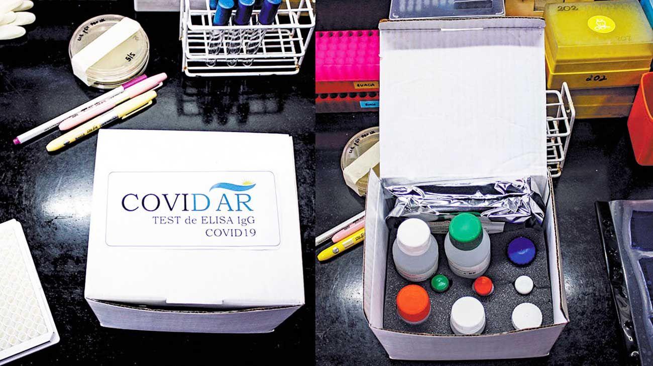 Logro. El test rápido creado por Conicet y el Instituto Leloir.