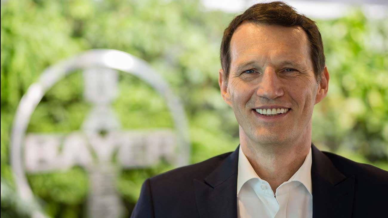 Christophe Dumont, Presidente y CEO de Bayer.
