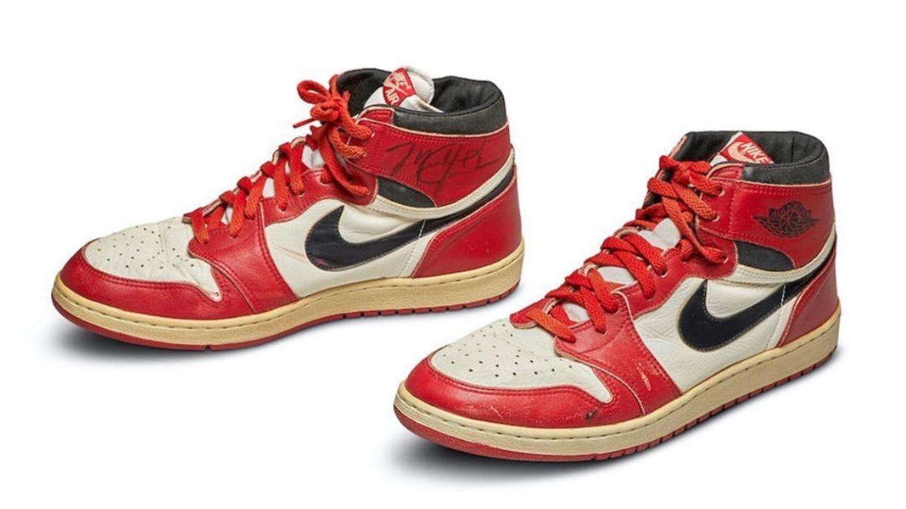 Vendieron las Air Jordan de 1985 por más de 500 mil dólares