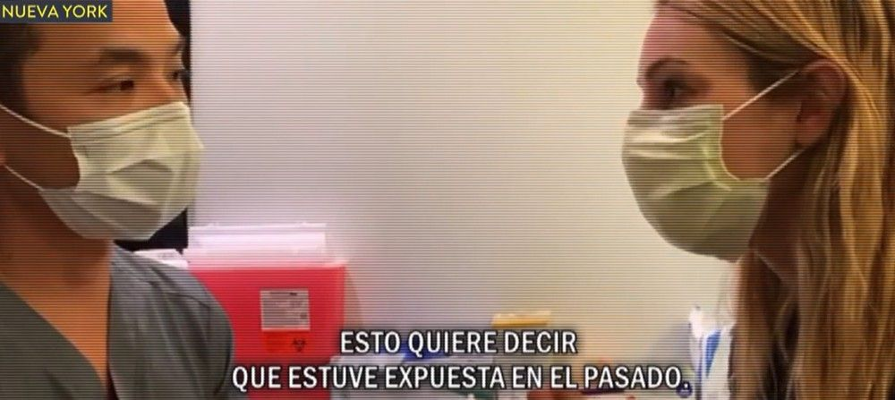 La periodista argentino se sometió a un test en vivo