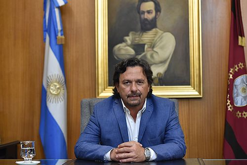 El gobernador de Salta Gustavo Sáenz