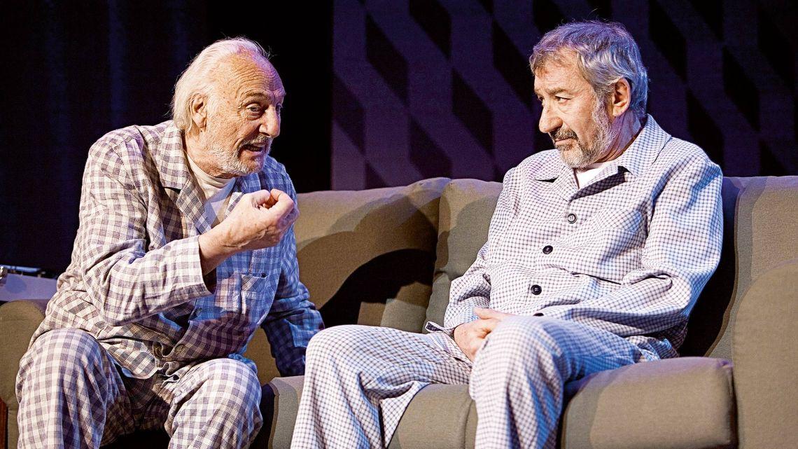 Héctor Alterio y José Sacristán | Foto:cedoc