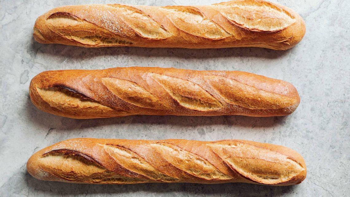 Tres baguettes. | Foto:Shutterstock