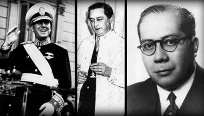 Perón, Vaernet y Carillo