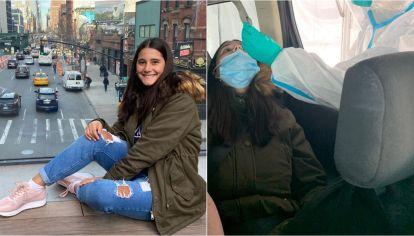 Valentina tiene 17 años y viajó a principios de marzo a Nueva York y es una de las tantas argentinas varadas en esa ciudad en plena pandemia.