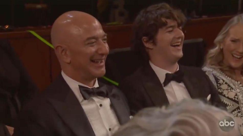 Jeff Bezos en la última entrega de los premios Oscar
