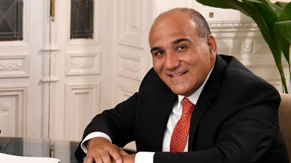 El gobernador de Tucumán, Juan Manzur.