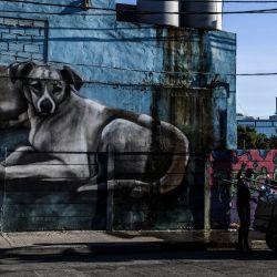 Situaciones que se viven en la ciudad de Buenos Aires en plena cuarentena obligatoria en el día 59. | Foto:Télam
