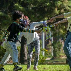 Salidas recreativas para menores de 16 años, de una hora de duración y acompañados por un adulto.   Foto:Juan Ferrari