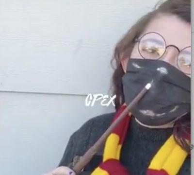 Tapaboca Harry Potter