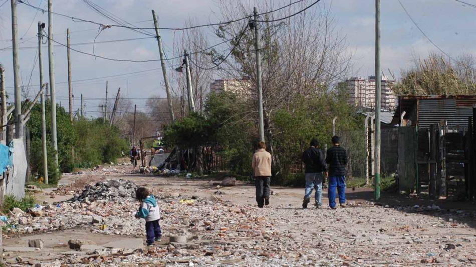 niños pobres en Villas 20200520
