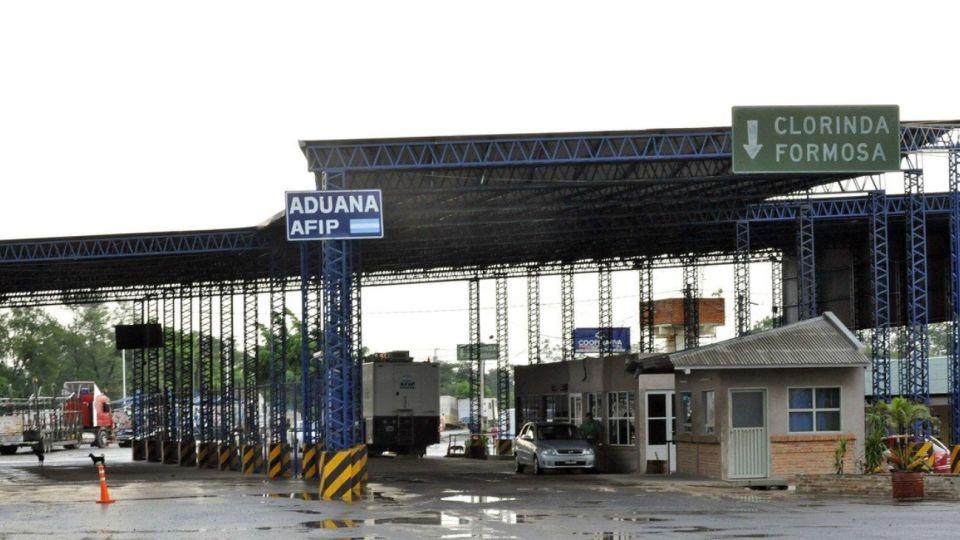 Puente fronterizo de Clorinda, en la frontera de Formosa con Paraguay.