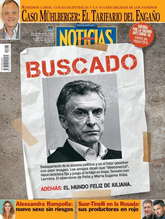TAPA Nº 2265: BUSCADO | Foto:CEDOC