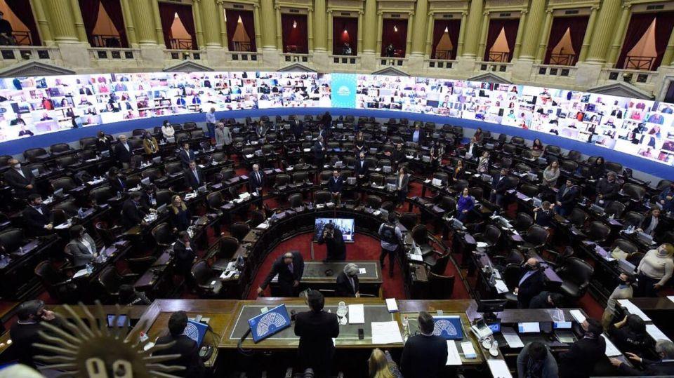 Sesion diputados 20200521