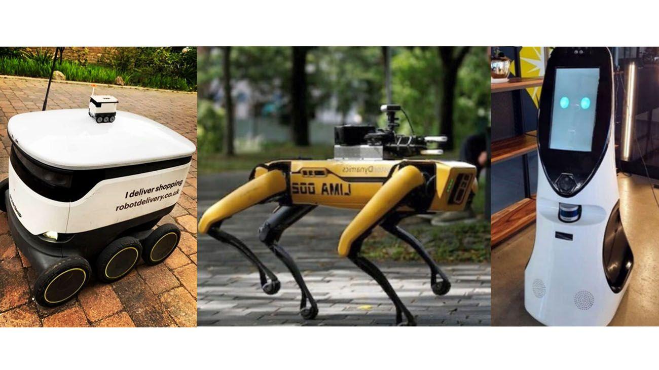Los robots más populares de la cuarentena