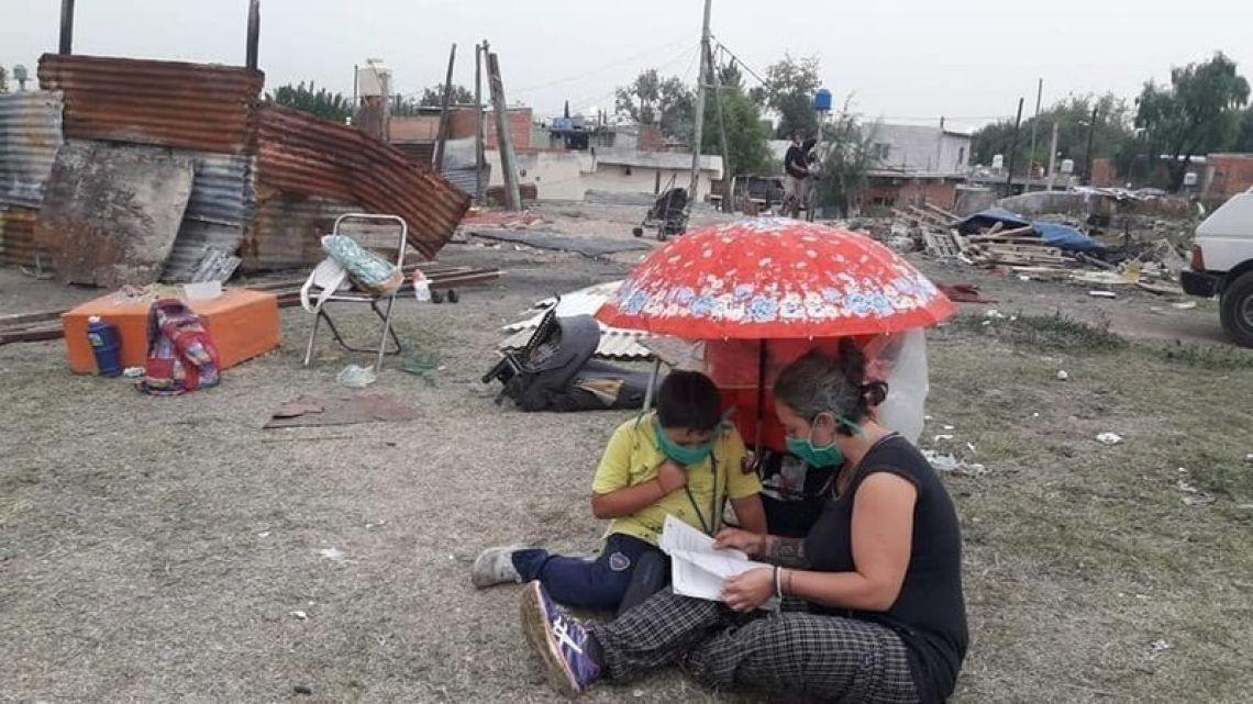 La iniciativa apunta a los sectores vulnerables.   Foto:Cedoc.