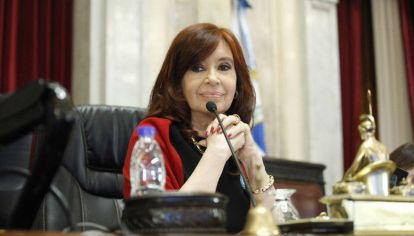 La vicepresidenta encabeza una nueva sesión virtual en la Cámara Alta.